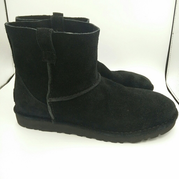 NEW UGG Classic Unlined Mini Slouch Boot Black 11